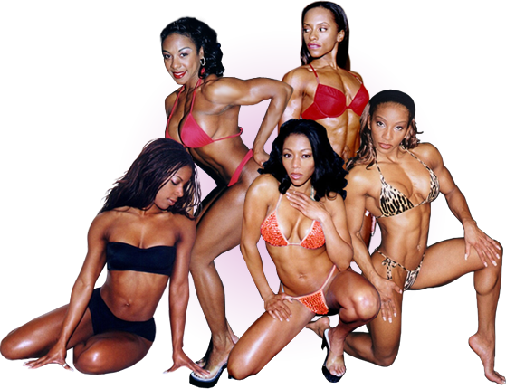 Ebony Fitness Models